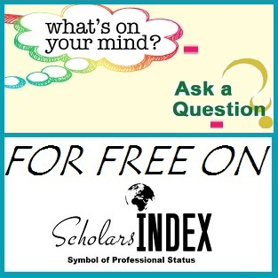 scholars index ask questions